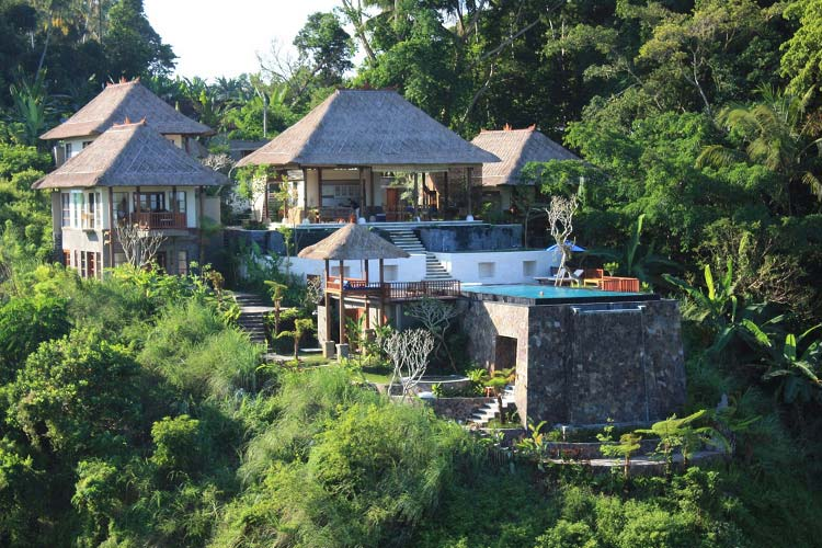15 rainforest hotels in bali tucked away in lush paradise