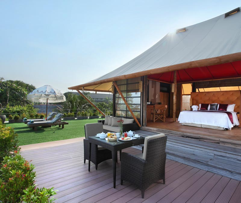 Apart from having the usual resort rooms and amenities Bali Dynasty Resort provides a great gl&ing alternative in the form of their luxury tent villa . & Hereu0027s what glamping is about and where best to do it in Bali
