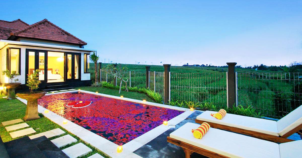 12 Vila Romantis Di Bali Dengan Private Pool Bawah Rp 1 Juta