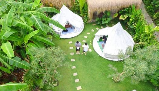 5 tempat glamping yang paling hits di Bali