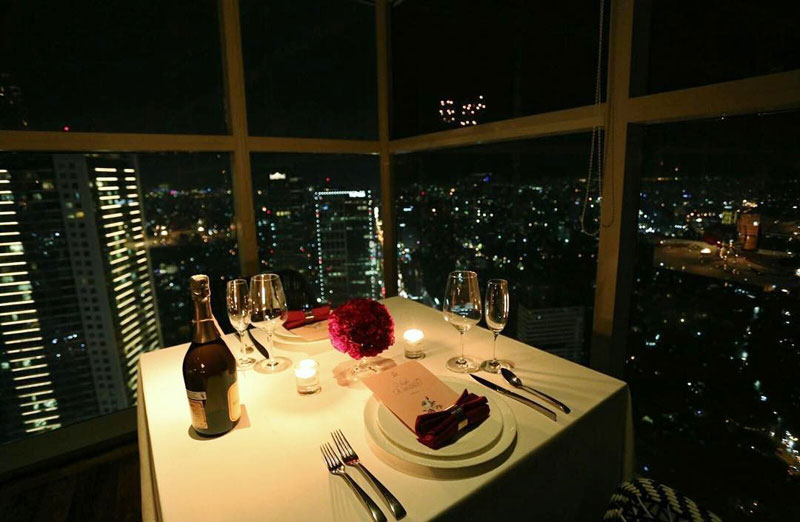 With Perfect Views Of Downtown And Beyond This Is Definitely Where You Can Bring Your Significant Other For A Romantic Date To Celebrate That Special