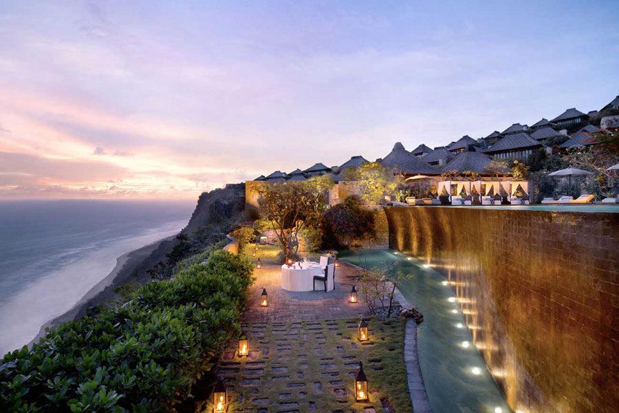 9 Hotel Mewah Di Atas Tebing Di Bali Dengan Pemandangan