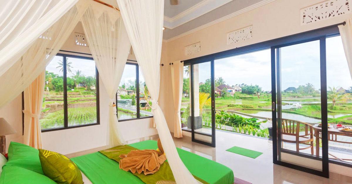 10 Hotel Di Bali Dengan Kamar Pemandangan Sawah Bawah 650 Ribu