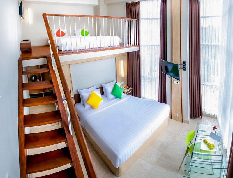 9 hotel di bandung dengan family room di bawah rp1 juta for Dekor kamar hotel di bandung