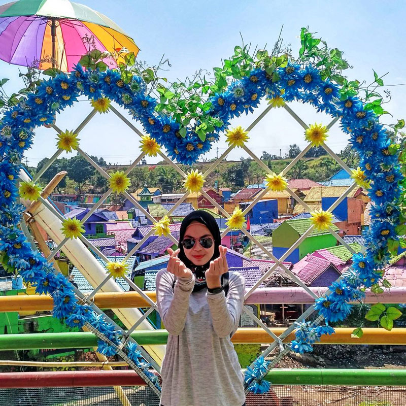 Welcome To My Blog Pemukiman Warna Warni Di Malang
