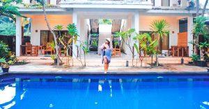 19 kamar hotel murah di Gili Trawangan dengan akses langsung ke kolam renang