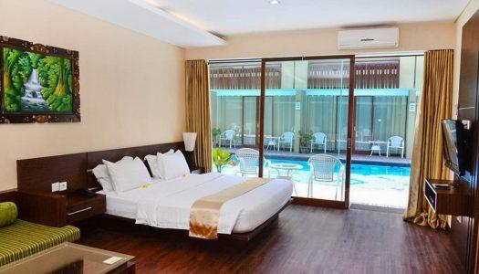 10 hotel murah di Kuta Bali dengan kolam renang langsung di depan kamar dibawah Rp600.000