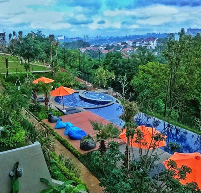 Outdoor Wedding Murah Di Bandung: 9 Hotel Murah Di Dago Bandung Dengan Kolam Renang Yang