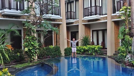 10 Hotel murah di Kuta Bali dengan balkon pribadi dan kolam renang dibawah Rp450 Ribu