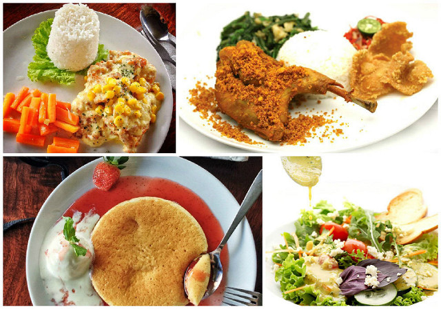 4 congo food collage