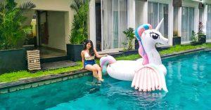 13 Hotel di Kuta & Seminyak Bali dengan kamar akses langsung kolam renang di bawah 500 ribu