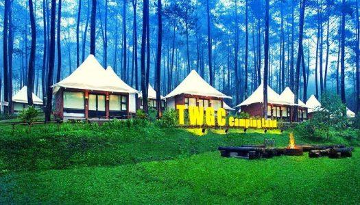 Liburan di tengah sejuknya hutan pinus Lembang: Urban Camp, Terminal Wisata Grafika Cikole