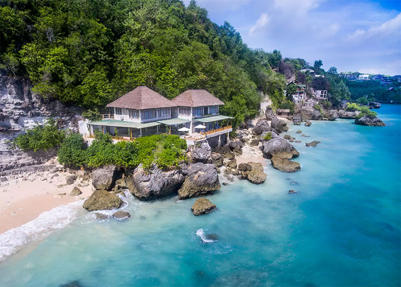 Standing Precariously On Stilts Alongside One Of Uluwatu S Famous High Cliffs This Six Bedroom Villa Is A Dream Come True For Beach