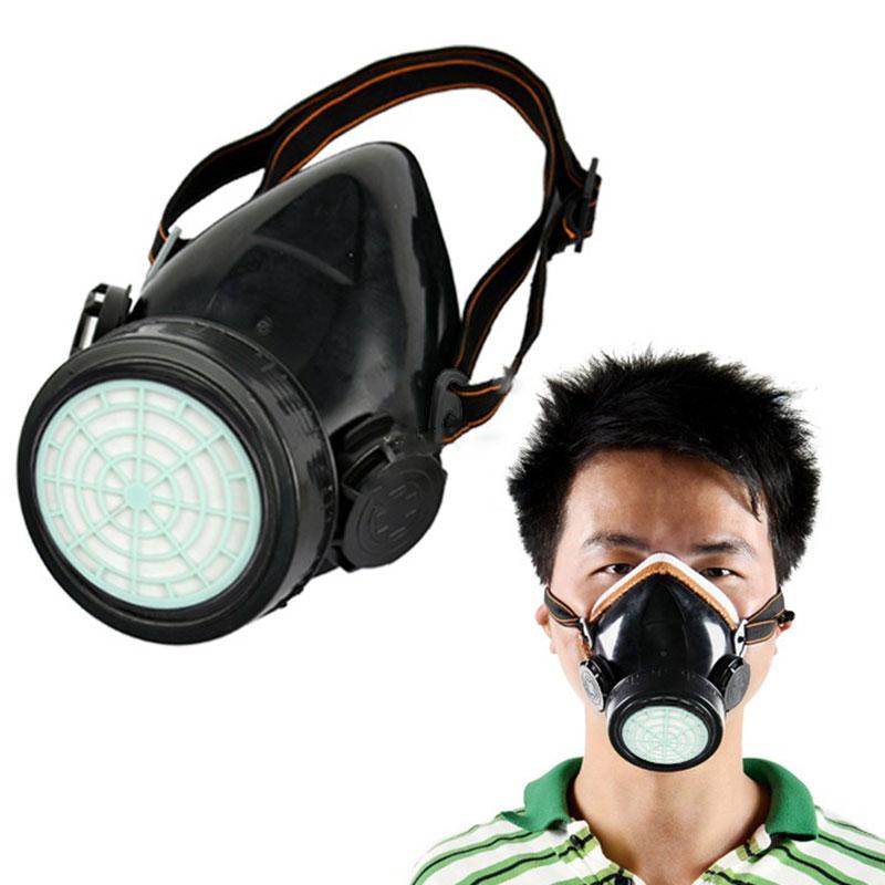 Perlindungan-masker-Gas-baru-Respirator-gas-Wajah-Anti-masker-debu-Kimia-cat-semprot-Cartridge-tunggal-grosir