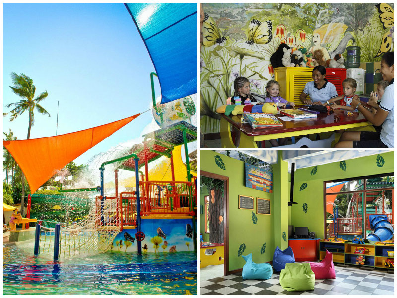 dynasty resort kids facilities collage