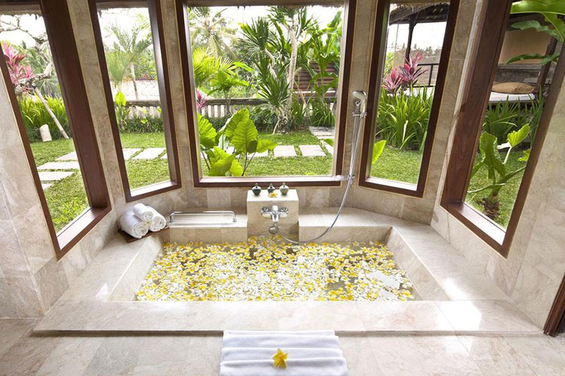 18 romantic bali villas with the most indulgent bathtubs and jacuzzis