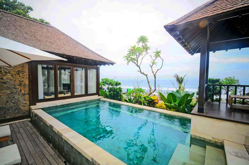 Located On Batu Belig Beach D Chandrasti Is Another Surprisingly Affordable Find With Its Stunning Private Infinity Pool Coupled The Ocean View
