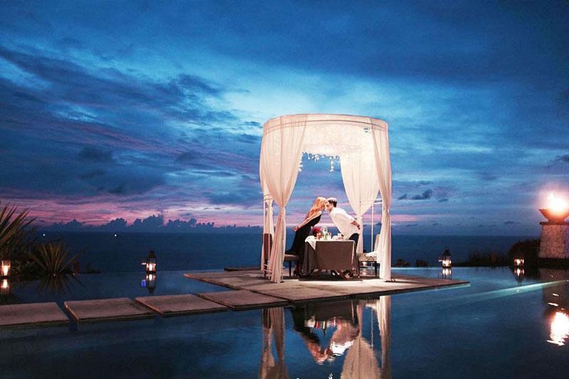 9 most romantic private fine dining experiences in bali