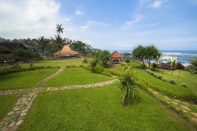 Bali pondok pitaya exterior