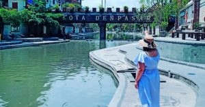 Cheonggyecheon River in Bali?!: Escape to a little piece of Korea at Taman Tukad Korea!